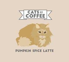 Cats as Coffee: Pumpkin Spice Latte Unisex T-Shirt