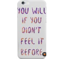 Watsky - Bet Against Me  iPhone Case/Skin