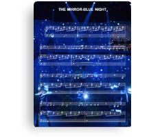 The Mirror - Blue Night - Spring Awakening Canvas Print