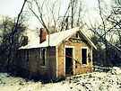 Old House in the Snow by Susan S. Kline