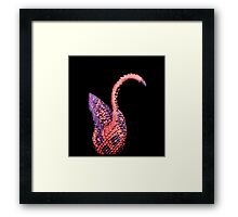 Paper Swan Framed Print
