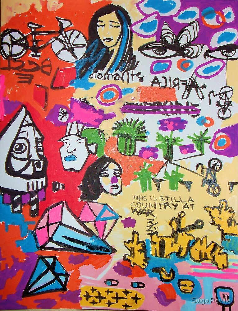 Die-monds by Suigo Revilla
