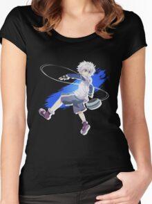 Killua Zoldyck Women's Fitted Scoop T-Shirt
