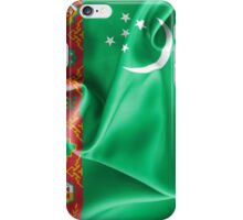Turkmenistan Flag iPhone Case/Skin