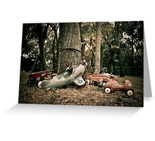Memories of Endless Fun with Wheels! Greeting Card