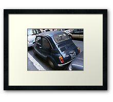 Fiat Bambino Framed Print