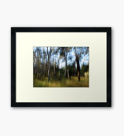A Day in December Framed Print