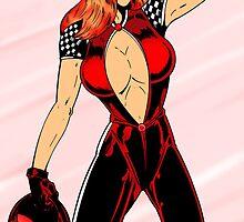 Scarlet Chase by redskyeworld