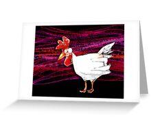 cheerful chook  Greeting Card