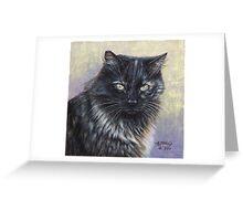 Reece - Feral Cat at Rockaway Greeting Card