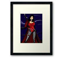 Eden Van Helsing Framed Print