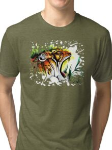 Tiger In The Wild Tri-blend T-Shirt