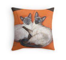 Cozy Couple Throw Pillow