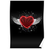 Wing Heart Poster