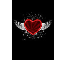Wing Heart Photographic Print