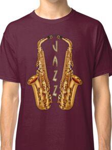 Jazz Saxophone Gold Classic T-Shirt
