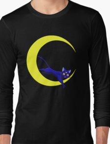Luna Cat of Sailor Moon Long Sleeve T-Shirt