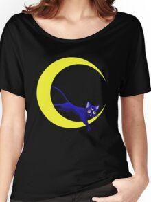 Luna Cat of Sailor Moon Women's Relaxed Fit T-Shirt