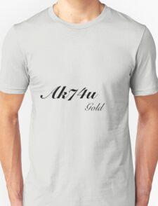 Ak74u Gold Black ops Addict T-Shirt