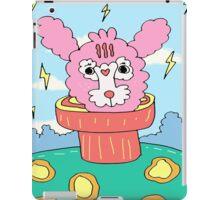 Pink Rabbit in her world iPad Case/Skin