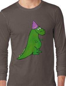 Party Dino Long Sleeve T-Shirt