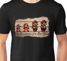 The Evolution of 8-bit Man Unisex T-Shirt