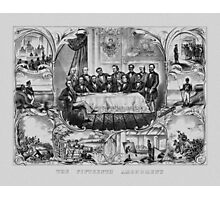 The Fifteenth Amendment  Photographic Print