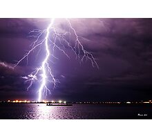 Middlepoint Lightning Bolt Photographic Print