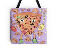 pizza party pastel sauce Tote Bag