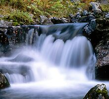 Waterfall by Ingvar Bjork Photography