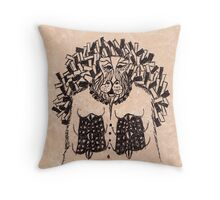 Judge Lord Hypatomaxx Throw Pillow