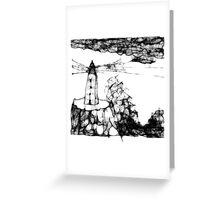 scribbler6 Greeting Card
