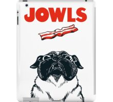 JOWLS Pug Movie Poster Parody iPad Case/Skin