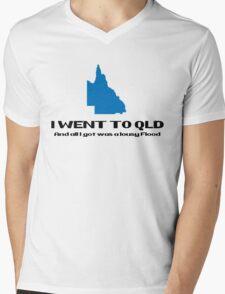 QLD Floods 2011 Mens V-Neck T-Shirt