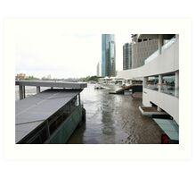 Brisbane Floods Jan. 2011 Art Print