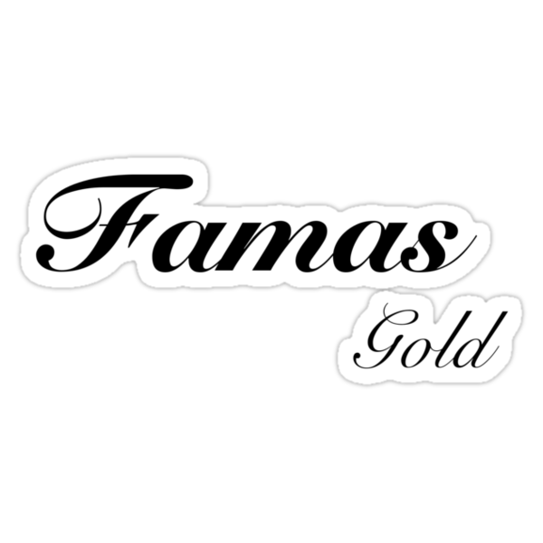 Famas Gold Black ops Addict by danid03