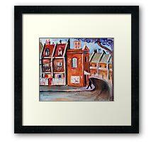 inner suburb Framed Print