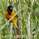 Yellow Bird Banner by AnnDixon