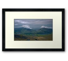 Snowdon View Framed Print