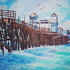 Oceanside Pier by Teresa Dominici