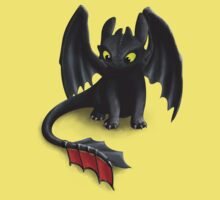 Toothless, Night Fury Inspired Dragon. Baby Tee