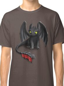 Toothless, Night Fury Inspired Dragon. Classic T-Shirt