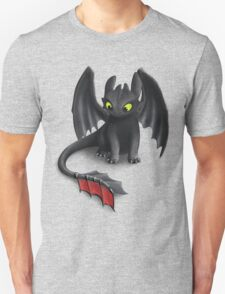 Toothless, Night Fury Inspired Dragon. T-Shirt