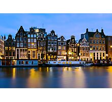 Houses in Amsterdam - The Netherlands Photographic Print