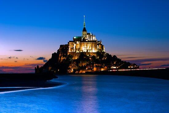 Mont Saint-Michel - Normandy, France by Yen Baet