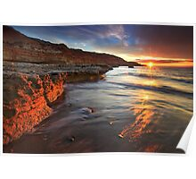 Port Noarlunga South Sunset Poster
