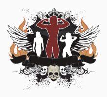 Body Builder - Female One Piece - Short Sleeve