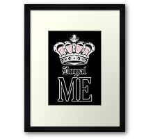 Royal Me - Pink (2) Framed Print