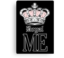 Royal Me - Pink (2) Canvas Print