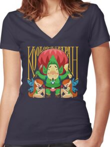 Tingle Women's Fitted V-Neck T-Shirt